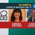 Cristina Piscitelli e Gaetano Dagostino ospiti in diretta di GiovinazzoViva
