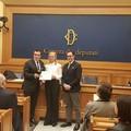 Luigi Morva premiato alla Camera dei Deputati tra le eccellenze pugliesi