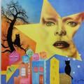 "Katia Gentile in mostra al ""David Bowie Glam Night by BowieNext"""