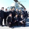 L'ANMI Giovinazzo ospite della nave Cavour (FOTO)