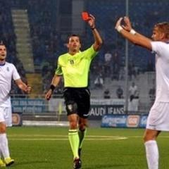 Illuzzi arbitra Novara-Virtus Lanciano