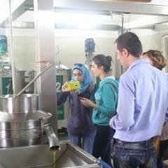 La produzione di olio materia di studio per studenti stranieri