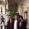 Inaugurata la mostra di Grazia Salierno nei corridoi del San Martin Hotel