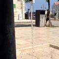 Riparata la fontanina di piazza Porto