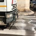 Pulizia meccanizzata delle strade a Giovinazzo: il calendario completo