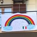 #AndràTuttoBene, cartelloni e striscioni della speranza sui balconi di Giovinazzo
