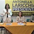 Crimi e Catalfo: «Laricchia ha caratteristiche per essere primo Presidente donna in Puglia»