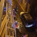 Auto data dalle fiamme a Terlizzi: era stata rubata in città