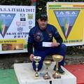 Luigi Mundo è nuovamente campione d'Italia