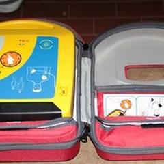 Un defibrillatore per il De Pergola