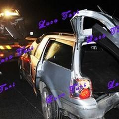 Scontro tra tir e auto sulla 16 bis: grave una ragazza
