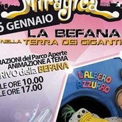 L'Albero Azzurro a Miragica per festeggiare la Befana