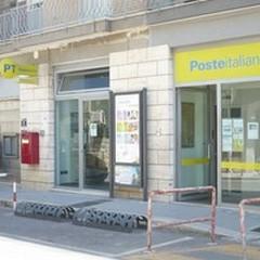 Ufficio postale chiuso per lavori