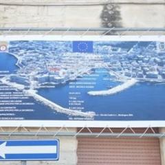 Ponente e Levante, affissi i cartelli di inizio lavori