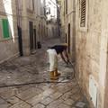 Pulizia strade centro storico: la soddisfazione di Forza Giovinazzo
