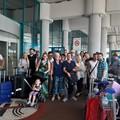 Due pullman di turisti tedeschi ed americani oggi a Giovinazzo