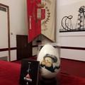 Cento anni Fellini, l'uovo di cioccolato realizzato a Giovinazzo esposto a Rimini