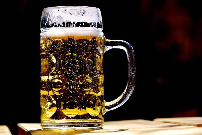 Un boccale di birra artigianale