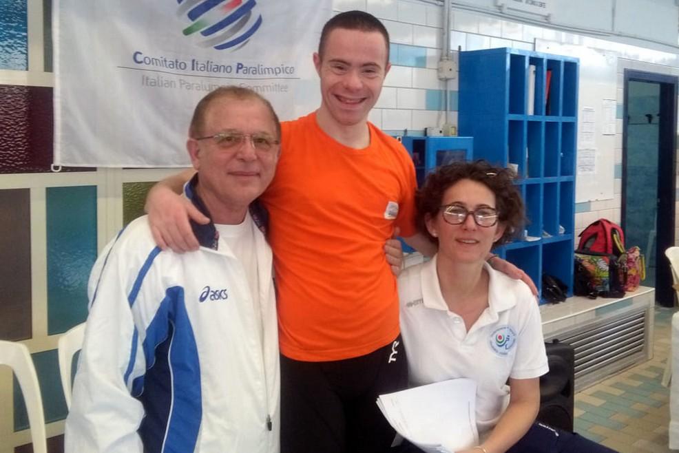 Il campionato regionale di nuoto Fisdir