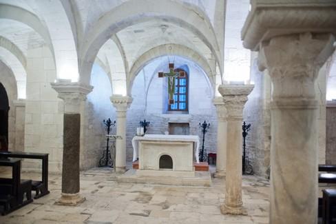 La cripta della Concattedrale