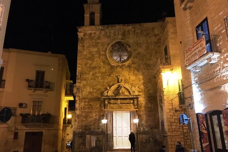 La Chiesa di Santa Maria di Costantinopoli (Foto Marzia Morva)
