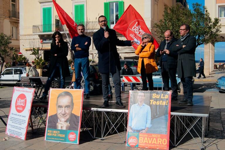 Appoggio ai candidati PD, Liberi e Uguali attacca Depalma e Sollecito