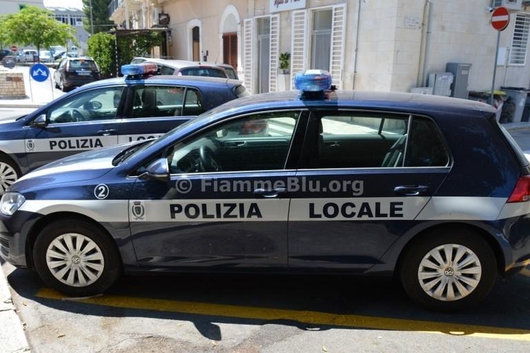 La Polizia Locale. <span>Foto FiammeBlu.org</span>