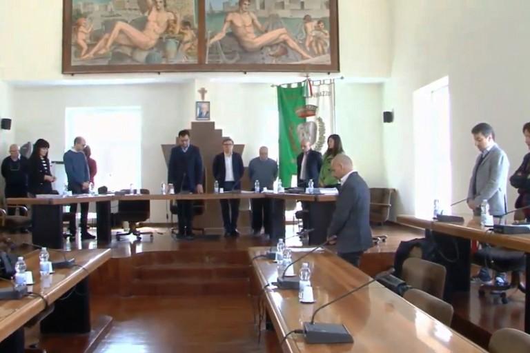 Il Consiglio comunale ha ricordato il Maresciallo Vincenzo Di Gennaro
