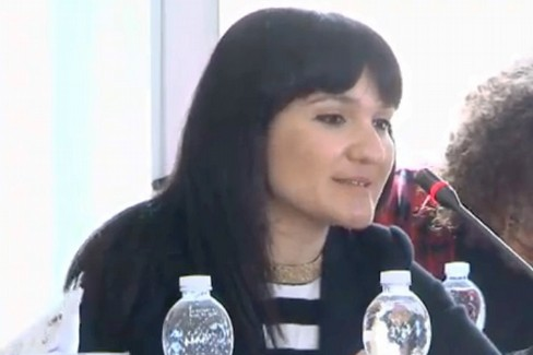 L'Assessore Cristina Piscitelli