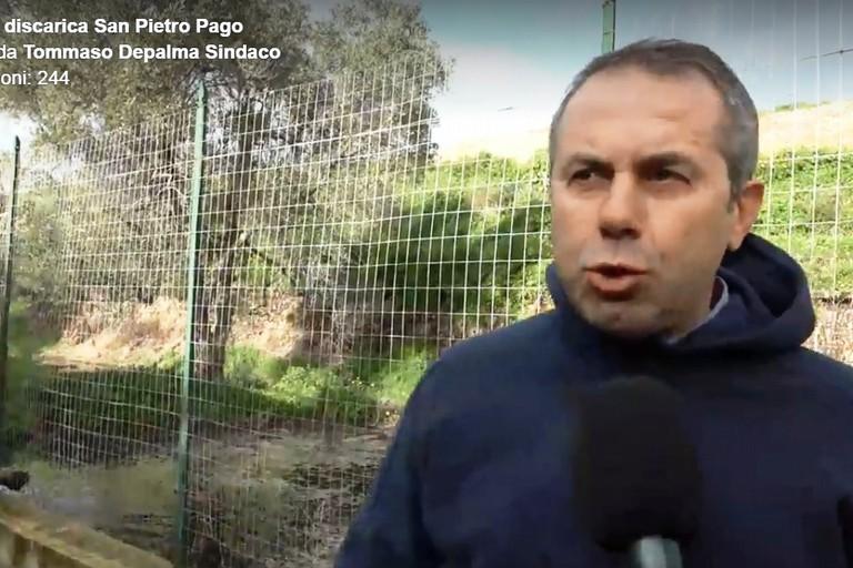 Tommaso Depalma in discarica