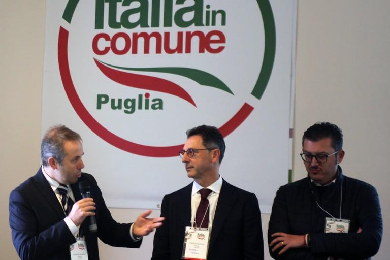 Depalma con gli amministratori di Italia in Comune