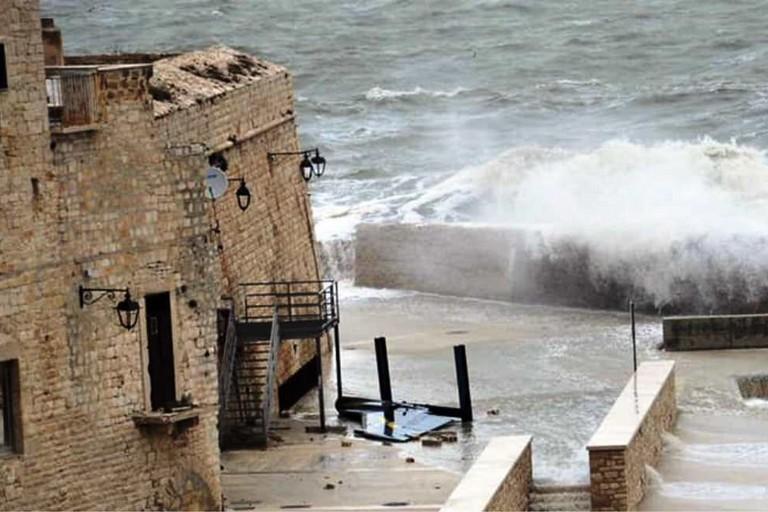 La deriva del Tornato spazzata via. <span>Foto M.A. </span>
