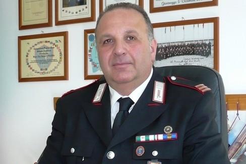 Il Maresciallo Amato. <span>Foto Nicola Miccione</span>