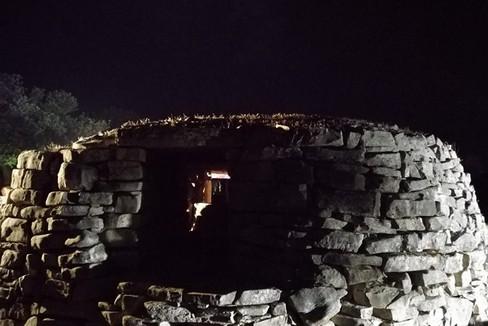 Il Dolmen di notte