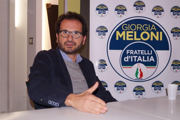 Marcello Gemmato a Giovinazzo. <span>Foto Enrico Tedeschi </span>