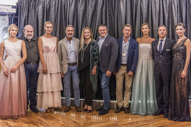 Foto di gruppo per Top Fashion Cruise 2019