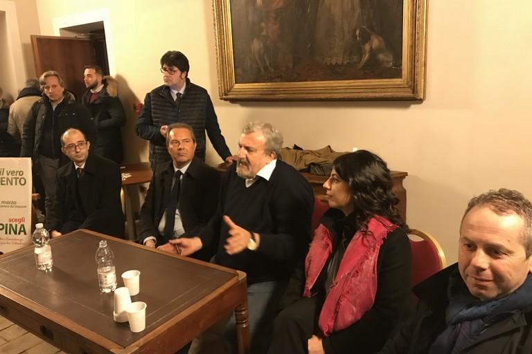 Il PD e Depalma hanno incontrato Michele Emiliano, Francesco Spina e Loredana Lezoche