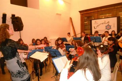 Gabriella Cipriani all'IVE durante Experimenta. <span>Foto Gianluca Battista</span>