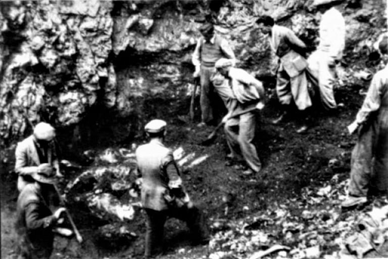 Corpi ritrovate negli inghiottitoi carsici