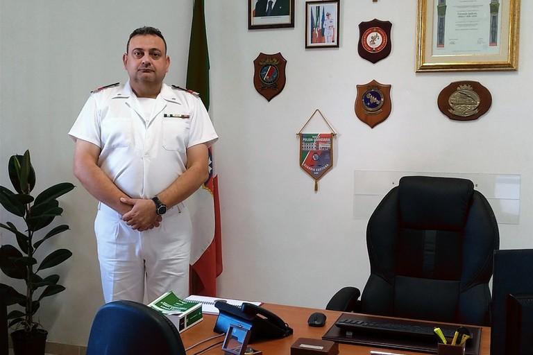 Il primo luogotenente Np Giulio Scafa