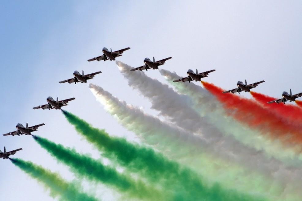Le Frecce Tricolori il 7 maggio a Giovinazzo