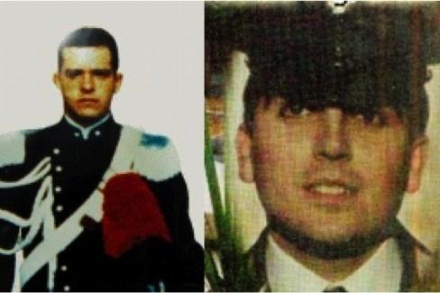 I carabinieri Carmelo Ganci e Luciano Pignatelli