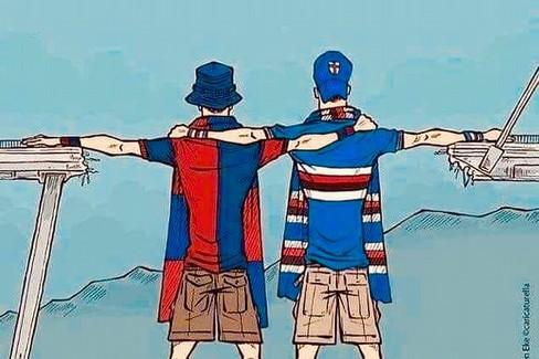 L'immagine simbolo dell'unità genovese