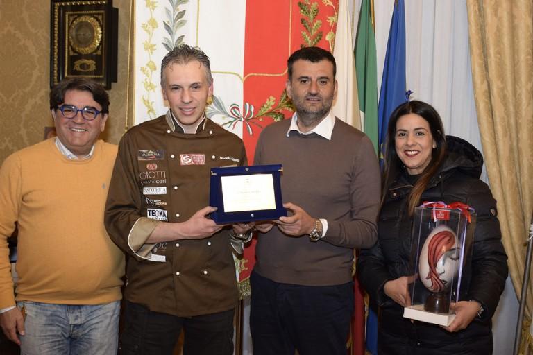 Giotti premiato da Decaro