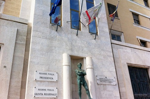 La sede della Giunta regionale