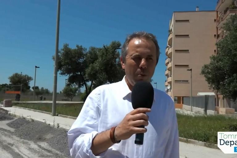 Tommaso Depalma presenta la nuova Greenway cittadina