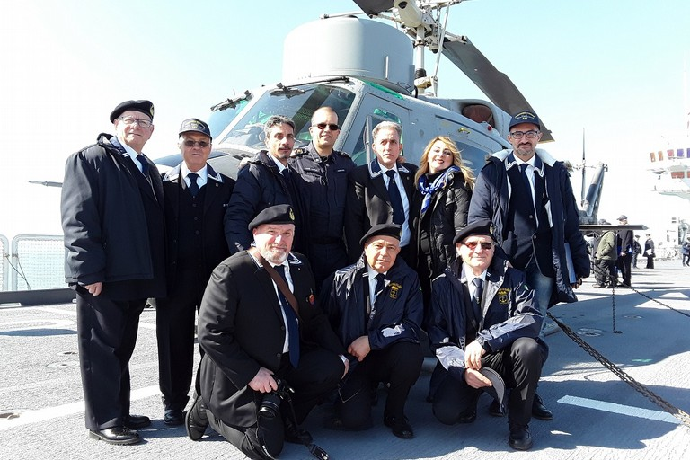 Il Gruppo ANMI Giovinazzo. <span>Foto Annamaria Natalicchio</span>