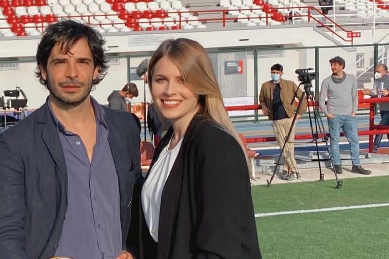Sara Martorana e Marco Bocci in Il medico della mala