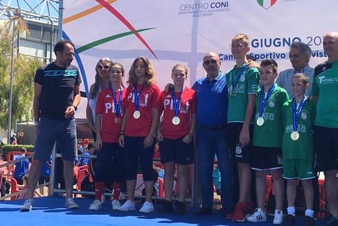 Da sinistra: Diletta Memoli Diletta, Giulia Pepe e Greta Labianca