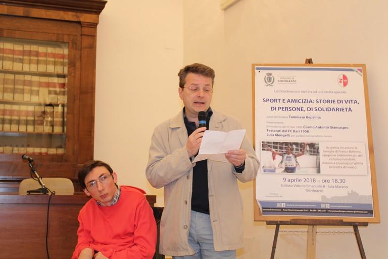 Francesco Minervini e Luca Mongelli. <span>Foto Gianluca Battista</span>